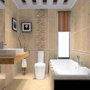 现代大户型欧式卫生间装修效果图