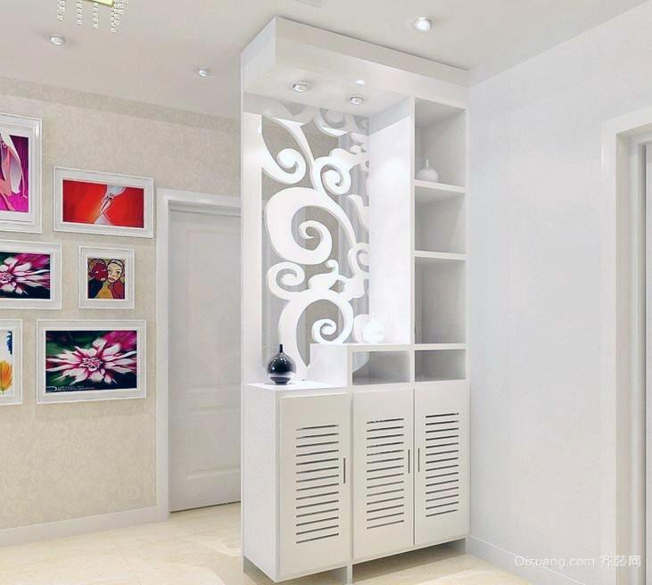 88平米精美质感欧式小户型鞋柜装修效果图