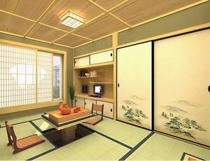 大户型日式风格榻榻米装修效果图