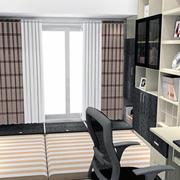 2016创新型简欧大户型书房榻榻米装修效果图