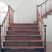 现代大户型室内楼梯设计效果图