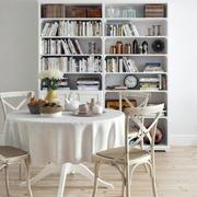 公寓餐厅书柜欣赏