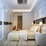 现代大户型欧式卧室背景墙装修效果图
