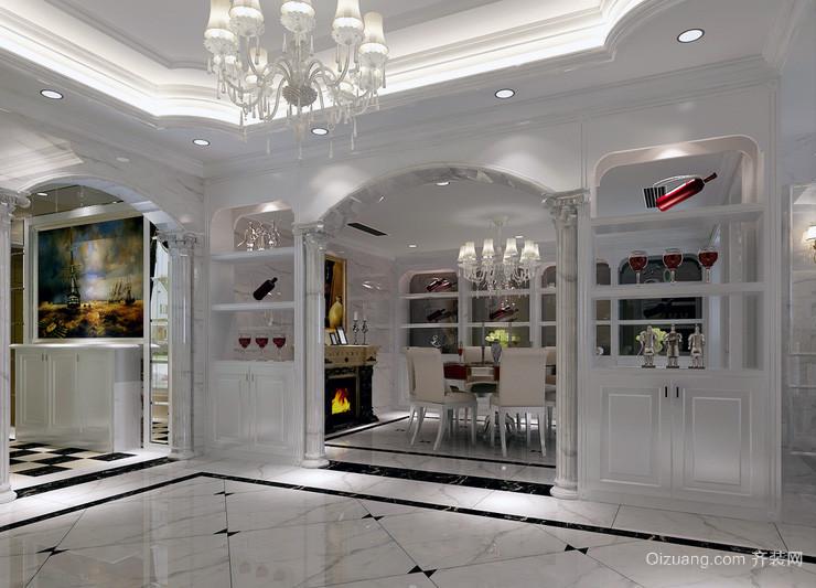 现代欧式大户型欧式酒柜装修效果图