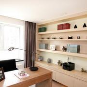 20平米独特韵味书房设计装修效果图