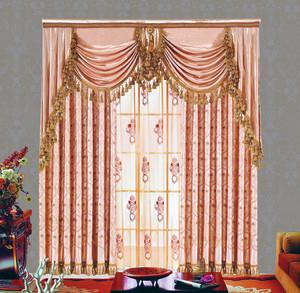 70平米简欧经济实用小户型飘窗窗帘效果图