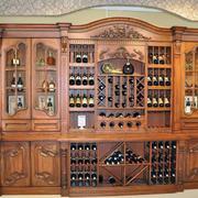 88平米气质款中式小户型酒柜装修效果图