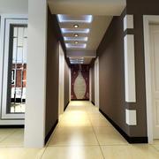 现代简约风格走廊吊顶灯饰效果图