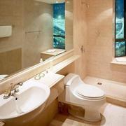 小别墅简欧风格卫生间装修效果图