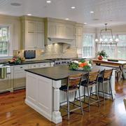 大户型现代欧式厨房装修效果图