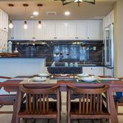 公寓开放式厨房展示