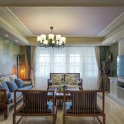 公寓客厅液体壁纸背景