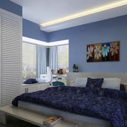 现代卧室设计模板