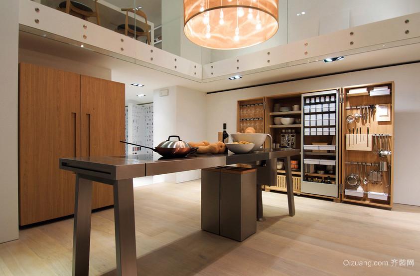 大户型欧式风格厨房设计效果图