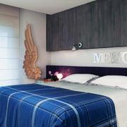 卧室设计床铺整体图