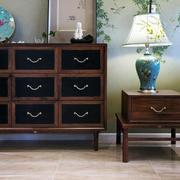公寓实木置物柜欣赏