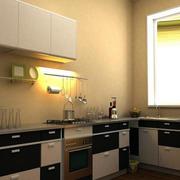 别墅精美厨房设计效果图