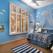 轻快地中海风格大户型儿童房装修效果图