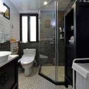 小户型简约风格后现代卫生间装修
