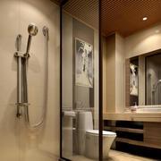 大户型东南亚简约风格卫生间装修效果图