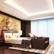 现代卧室灯光设计