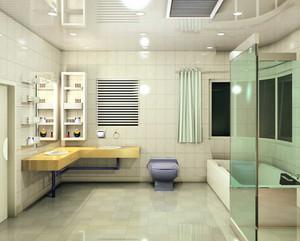 30平米大户型简约风格卫生间装修效果图