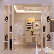 简约现代两居室餐厅隔断装修设计效果图
