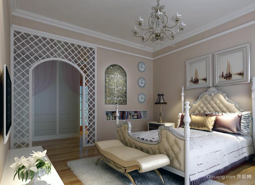 现代大户型欧式卧室装修效果图