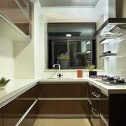 二居室时尚前卫厨房装修效果图