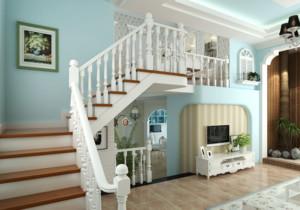 2015新型宜家小户型完美复式楼梯装修效果图