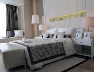 唯美的别墅型欧式卧室吊顶装修效果图