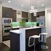 精致的大户型欧式开放式厨房装修效果图
