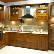 24平米欧式风格厨房装修效果图