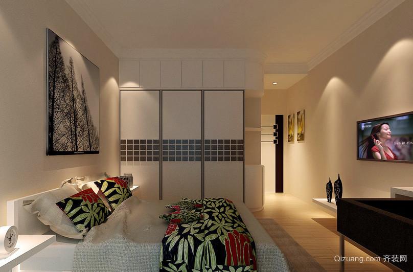 别墅沉稳型卧室装修效果图