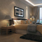 卧室背景墙造型图