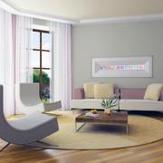 大户型精致欧式客厅装修效果图