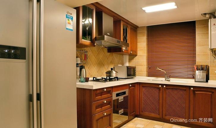 大户型设施齐全厨房装修效果图