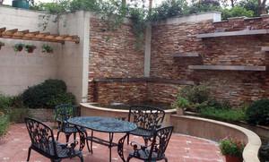 别墅休闲入户花园装修效果图