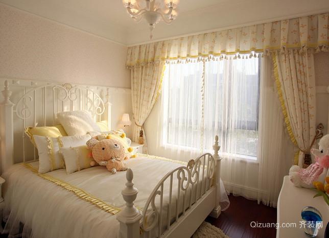 欧式别墅秀气女生儿童房装修效果图
