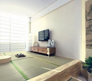 现代大户型日式榻榻米装修效果图