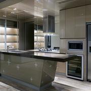 大户型欧式开放式厨房装修效果图