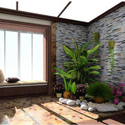 精美的家居入户花园装修效果图