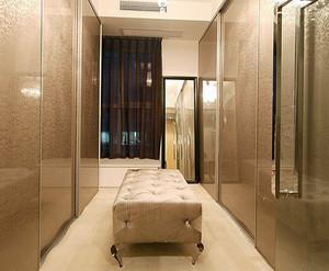 两室一厅简约风格清新风格衣帽间装修效果图