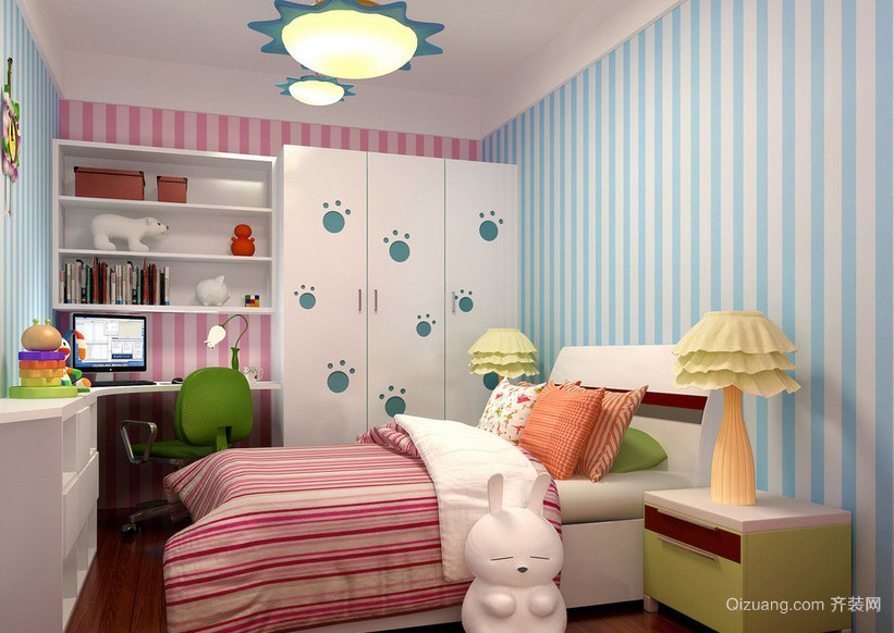 小户型精巧儿童房装修设计效果图