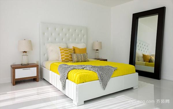 50平米小户型地中海卧室书柜装饰效果图