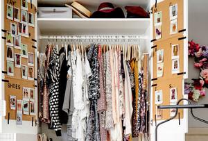 女人的衣柜:北欧风格小型衣帽间装饰