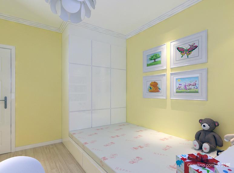 精美舒适的大户型儿童房设计装修效果图