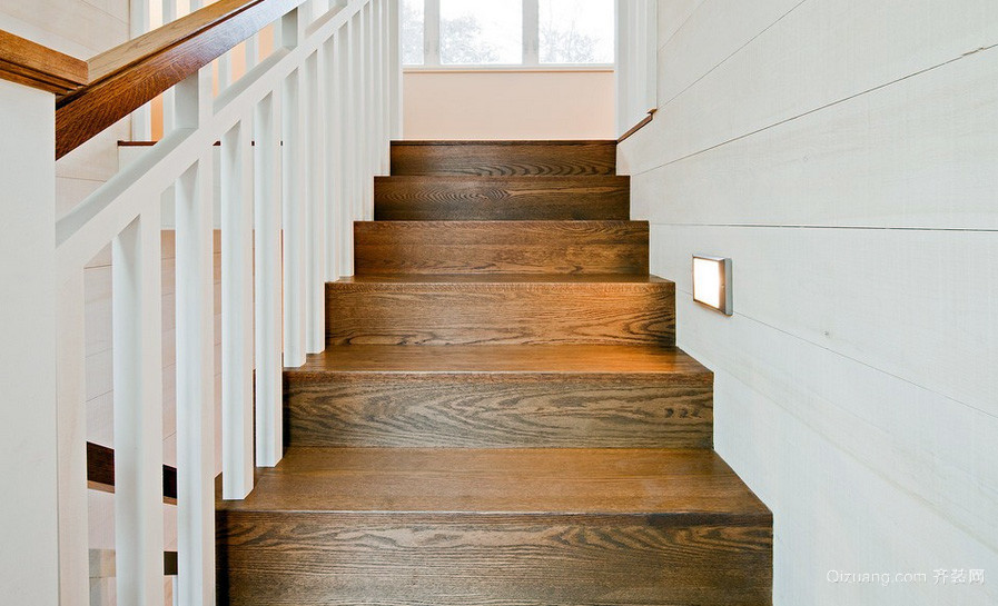 大户型宜家风格楼梯设计装修效果图
