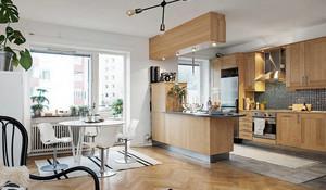公寓厨房餐厅装潢
