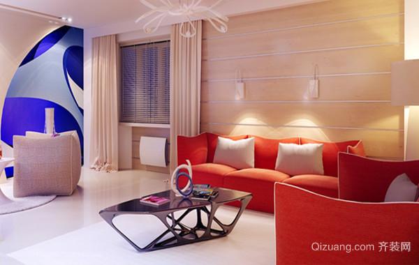 30平米趣味欧式儿童房高低床装修效果图